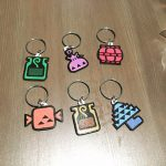 MH keychains